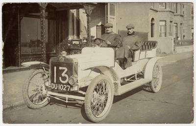 T.C. Pullinger in a Beeston Humber, 1907 Tourist…
