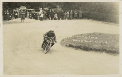 T.M. Sheard, 1923 Senior TT (Tourist Trophy)