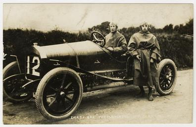 Philip Graham, 1908 Tourist Trophy motorcar race