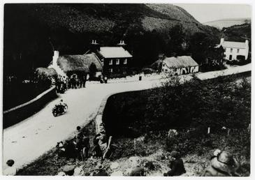 Ballig Bridge, 1913 TT (Tourist Trophy)