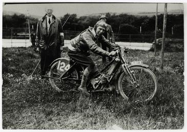 Tim Wood (Scott), 1913 Senior TT (Tourist Trophy)