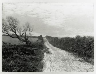 Manx lane, part of Maughold hill climb, 1904…