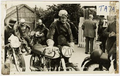 E.C. Cope on Norton 250cc number 20 at…
