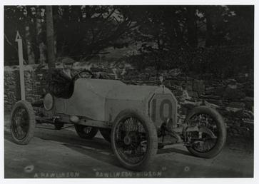 Motorcar no.10 A.Rawlinson (Toby) in Rawlinson Hudson, 1914…