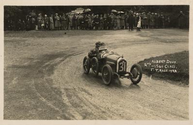 Motorcar no.31 Albert Divo in a Talbot-Darracq, 1922…