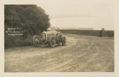 Motorcar no.31 Albert Divo in a Talbot Darracq,…