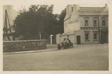 Motorcar no.24 Algernon Lee Guinness in a Talbot-Darracq…