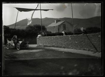 Motorcar no.25 A.E. Crowdy in a 18hp Siddeley…