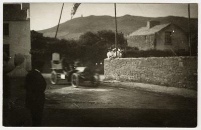Motorcar, Albany Road, Peel, 1906 Tourist Trophy motorcar…