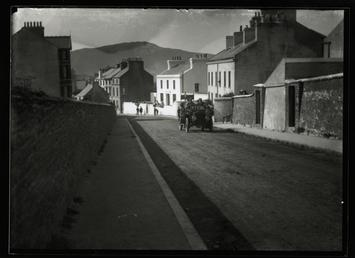 Motorcar, Ramsey Road, Peel, 1906 Tourist Trophy motorcar…