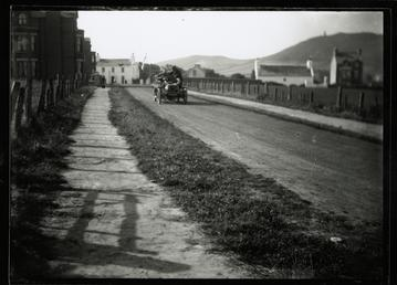 Motorcar no.12 A.E. George in an Argyle, Albany…