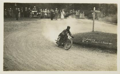 Jim Whalley, 1921 Junior TT (Tourist Trophy)