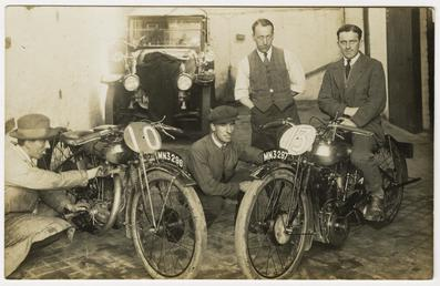 Tom Sheard, TT (Tourist Trophy) rider poses with…