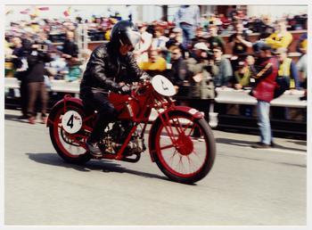 250cc Moto Guzzi ridden by Carlo Perelli, 1996…