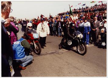 1996 Classic TT (Tourist Trophy) Lap of Honour