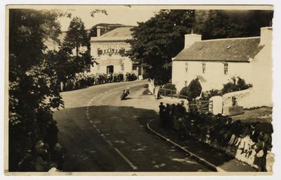 Ballacraine Corner, 1929 Senior Amateur TT (Tourist Trophy)