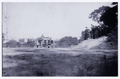Motorcar no.4, Hon. Charles Rolls in a  Rolls…