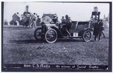 Hon. Charles S. Rolls in a 20h.p. Rolls…