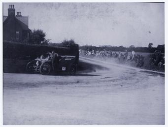 Motorcar no.4 Hon. Charles Rolls in a Rolls…