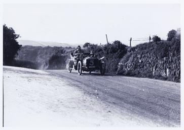 Motorcar no.5 Percy Northey in a Rolls Royce,…