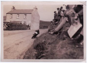 Jimmy Guthrie, 1930 (?) Junior TT (Tourist Trophy)