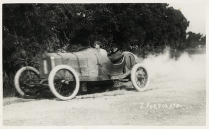 Motorcar no.1 J. Porporato in a Minerva, Waterworks…