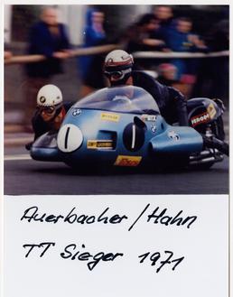 Georg Auerbacher and Hermann Hahn (passenger) winners of…