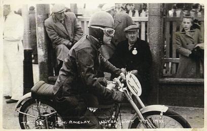 J.N. Anelay aboard machine number 67, 1951 Ultra…