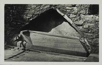 Bishop Simon's tomb, St German's Cathedral, Peel Castle