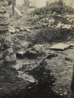 Grave site, Rushen Abbey, Malew