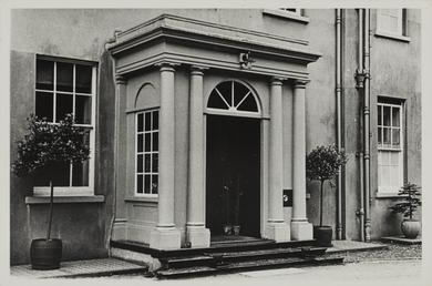 Entrance, Kirby House, Braddan
