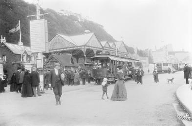 MER 'Electric Tramways' terminus, Douglas