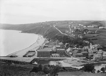 Laxey viewed to south from Minorca hill