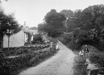 Scene at Cornaa, Ballaglass, Maughold