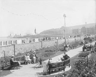 Loch Promenade sunken gardens, Douglas