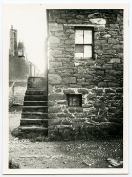John Gawne's School, behind Castle Rag, Peel