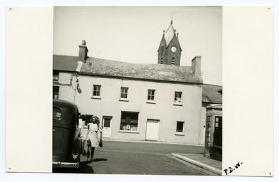 Sayle's House, Market Place, Peel