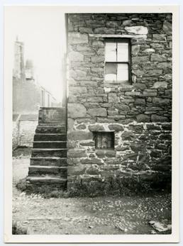 John Gawne's School behind Castle Rag, Peel