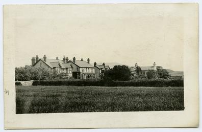 Cottages in Tynwald Road, Peel