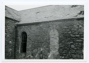 St Peter's Church, Peel, prior to and during…