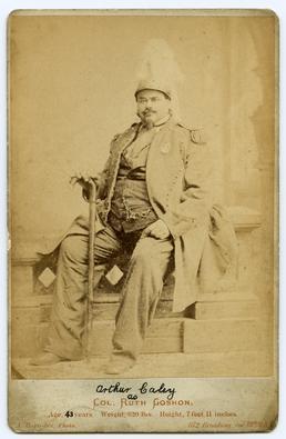 Arthur Caley, The Manx Giant (b.1824 d.1889)