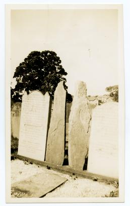 The Cannell graves, Onchan Cemetery