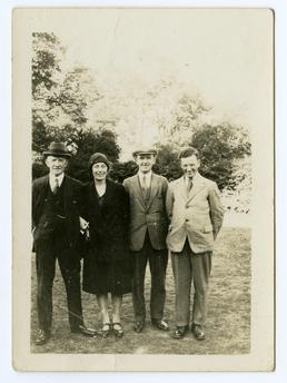 Aaron Cowin Senior, Clara and Joseph Quayle Cowin,…