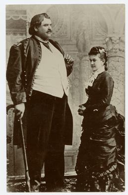 Arthur Caley, the Manx Giant
