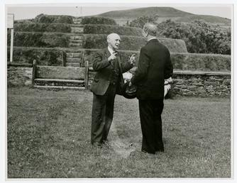 R.B. Moore and Éamon de Valera visiting Tynwald…