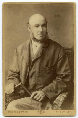 Edward Farrant MHK (studio portrait)