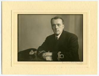 David Kenneth Forbes (in uniform)