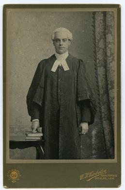 George Brown Gelling - in robes of office