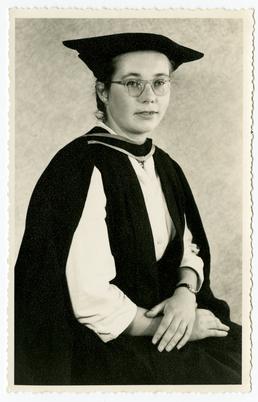 Larch Garrad - graduation photograph