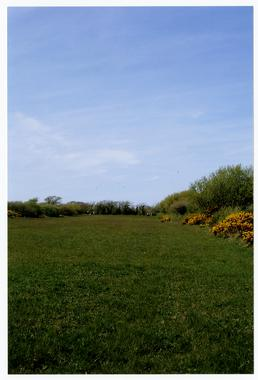 Larch Garrad's memorial field, Ballaugh